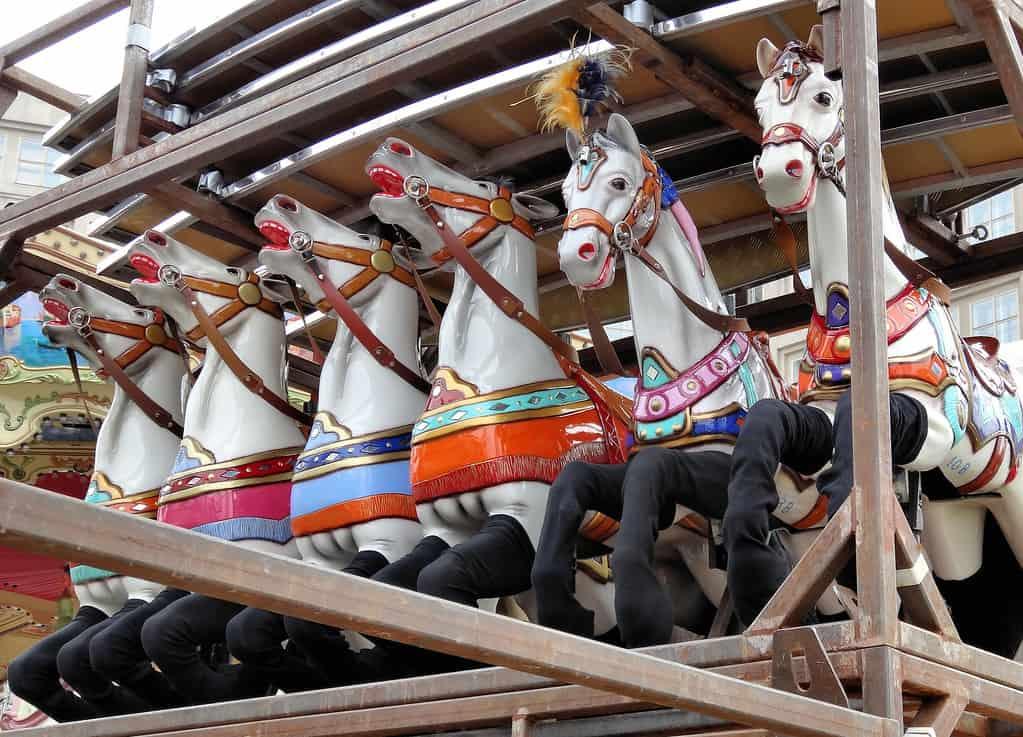 Pferderennen auf der Welt